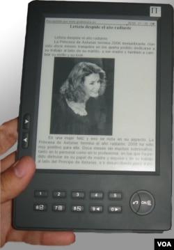 Los lectores digitales son ligeros y cómodos a la vista.