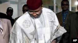 尼日尔总统坦贾投票