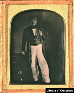 Daguerreotype of John Ross, principal chief of the Cherokee Nation between 1828-1866.