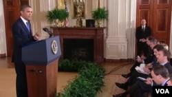 """""""Hay demasiadas personas sufriendo en este país como para que nosotros no hagamos nada"""", remarcó Obama ante la prensa destacada en la Casa Blanca."""