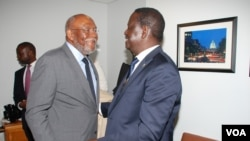 Raila Odinga i Washington