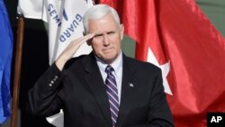 Wapres terpilih AS, Mike Pence (foto: dok).