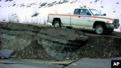 4. novembra 2002. godine Aljasku je pogodio zemljotres koji je pričinio veliku materijalnu štetu