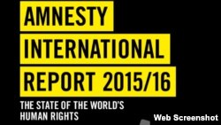 Amnesty International Report 2015/16 The State of the World's Human Rights