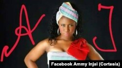 Guiné-Bissau, cantora Ammy Injai
