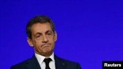 Nicolas Sarkozy, yahoze ari perezida w'igihugu c'Ubufransa