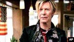 英国的著名摇滚人David Bowie