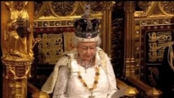 سخنرانی ملکه الیزابت در پارلمان