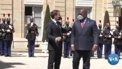 DRC-FRANCE: Felix ni Macron Ka nionye Paris