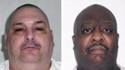 Dos reos ejecutados en Arkansas en solo tres horas