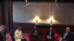 2013-07-30 美國之音視頻新聞: 歐盟外交政策主管會晤穆爾西