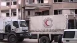 اختلال در ارسال کمک های بشردوستانه به حمص
