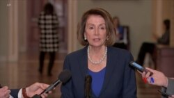 2019-01-01 美國之音視頻新聞: 美國眾院民主黨擬在週四立法撥款重開政府機構