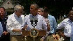 Обама: пострадавшие от наводнения жители Луизианы получат необходимую помощь