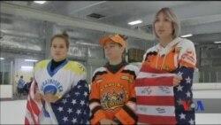 У передмісті Вашингтона пройшов перший любительський американсько-український турнір із жіночого хокею. Відео