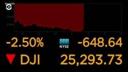 Американский рынок акций глубоко в «красном» из-за торговой войны