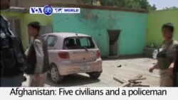 VOA60 World PM - Afghanistan: Taliban insurgents attack a court in city of Ghazni, kill six
