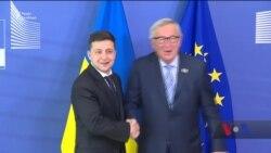 Перший закордонний візит Володимира Зеленського на посаді президента - подробиці. Відео