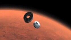 美国好奇号将登陆火星