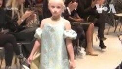 Người mẫu nhí cụt chân sải bước tại Tuần lễ Thời trang Paris