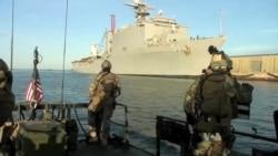 Iran Detains 2 US Navy Vessels