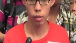 香港抗議學生被當局正式起訴