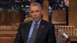 奧巴馬稱擔任總統不是電視真人騷