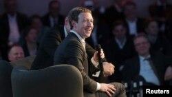 مارک زاکربرگ، بنیانگذار فیس بوک.