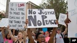 Les manifestations contre la brutalité policière en Louisiane