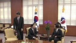 韓國官員會見中日大使討論朝鮮緊張局勢