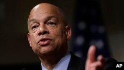 Menteri Keamanan Dalam Negeri Amerika, Jeh Johnson menolak usulan program pengintaian terhadap Muslim AS (foto: dok).