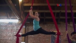 Escuela circense de ejercicos intensos