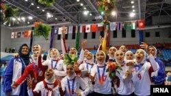 قهرمانی تیم ملی فوتسال بانوان ایران در آسیا