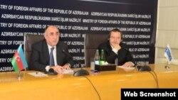 Elmar Məmmədyarov və İvica Dacic
