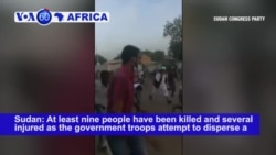 VOA60 Africa - UN Chief Condemns Killing of Protesters by Sudanese Security Forces