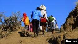 Faayilii - Namoota wal-waraansa naannoo Tigraay keessaa baqatanii Sudaanitti godaanan, Muddee 16, 2020