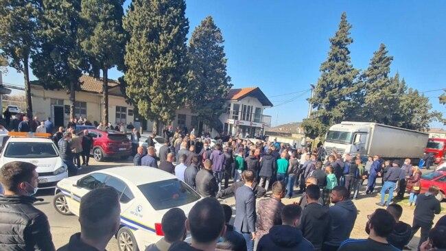 Protesta në Tuz