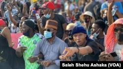 Masu Zanga-Zangar Sai An Soke Rundunar SARS a Abuja