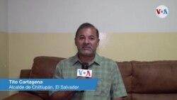 Tito Cartagena, , alcalde de Chiltiupán, en El Salvador