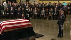США прощаются с президентом Джорджем Бушем-старшим