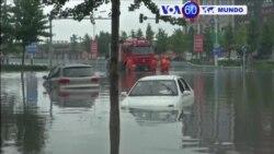 Manchetes Mundo 21 de Julho de 2016- Chuvas fortes continuam a matar a pessoas na China