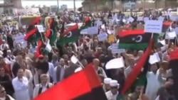 利比亞抗議民兵組織的示威釀成衝突