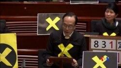 2015-04-22 美國之音視頻新聞:香港公佈政改方案無視泛民訴求