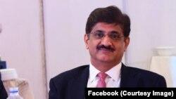 سندھ کے وزیر اعلی مراد علی شاہ ۔ فائل فوٹو