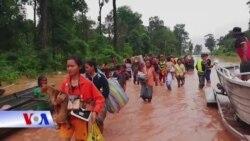 Lào: Vỡ đập thủy điện Mekong, hàng trăm người mất tích