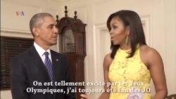 Le couple Obama et le quiz olympique sur Rio 2016