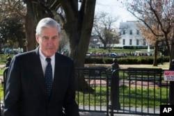 El fiscal especial Robert Mueller en Washington. Foto del 24 de marzo de 2018.
