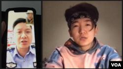 现居墨尔本的中国90后Zoo(化名)因在网上发布嘲讽习近平的推文,父亲多次被中国警方问讯。