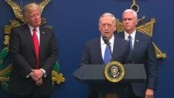 Defense Secretary Mattis Thanks Trump for Having 'Confidence in Me'