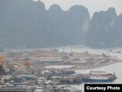 Một dự án của tập đoàn Vingroup bị chỉ trích khi trong quá trình san lấp